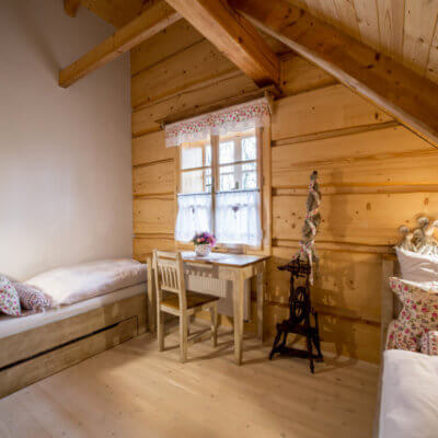 Ubytování v soukromí Vysočina – fotogalerie Roubenky Štěpánky