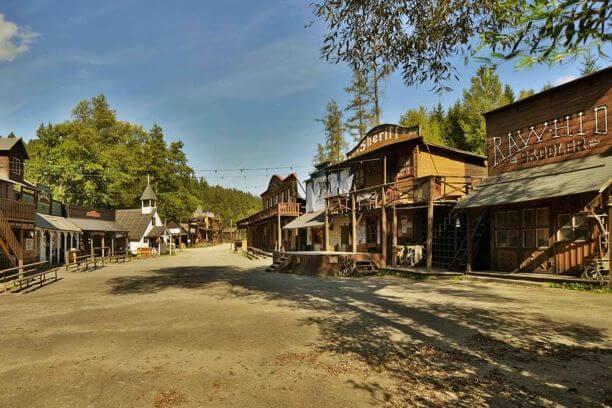 Westernové městečko Šiklův mlýn | Tip na výlet na Vysočině