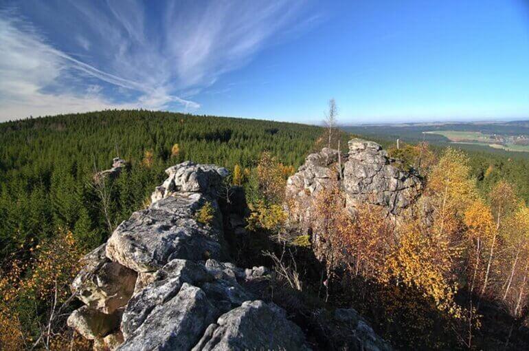 Přírodní památka Malinská skála | Kam na výlet na Vysočině